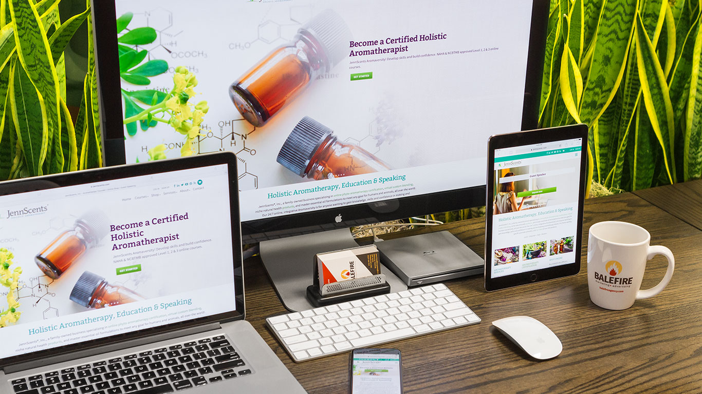 Website design naturopath
