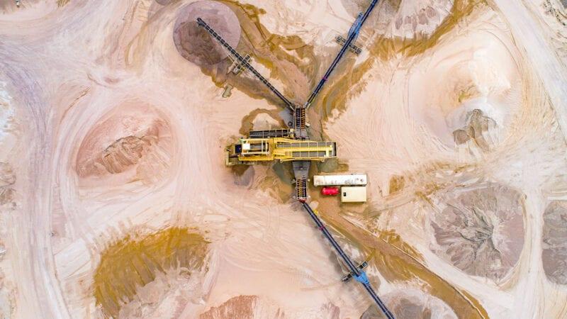 Northridge Sand aerial